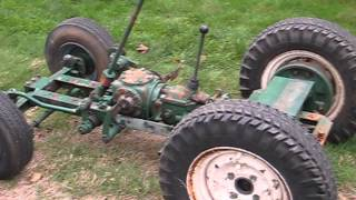 1960 's Pow'r Pup Power Popular Mechanics Magazine Garden Tractor Build Part 1