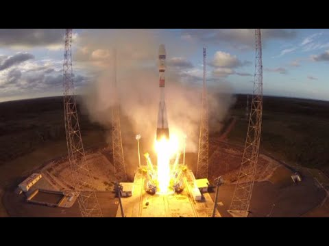 Galileo mission launch: Arianespace Soyuz ST-B propels two nav satellites