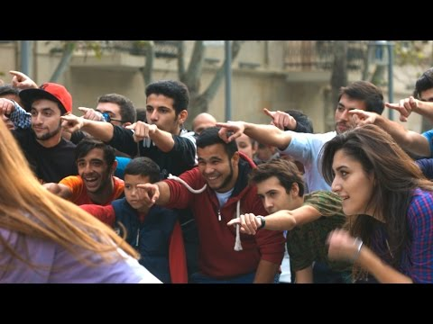 NEW Little Party Flashmob  FLASHMOB Azerbaijan
