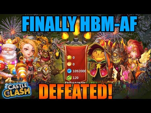 FINALLY HBM-AF IS NO MORE (VICTORY!!!)- CASTLE CLASH