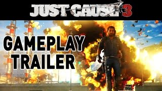 Just Cause 3 NEW Gameplay Trailer HD PC / PS4 / XBOX ONE Just Cause 3 Gameplay trailer