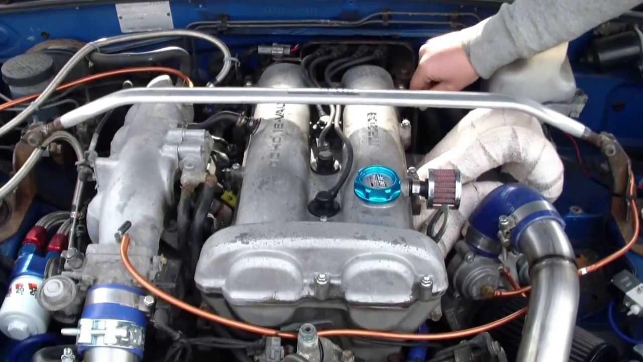 Miata 1.6 Engine >> Mazda MX5 1.6 Turbo Engine Bay Pan Down - YouTube