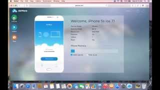 how to Use AirMore Web for iOS?