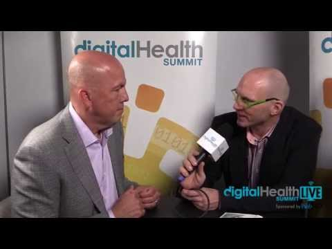 Rick Valencia and Corinne Savill, Novartis Pharma at Digital Health LIVE CES Sponsored by WebMD