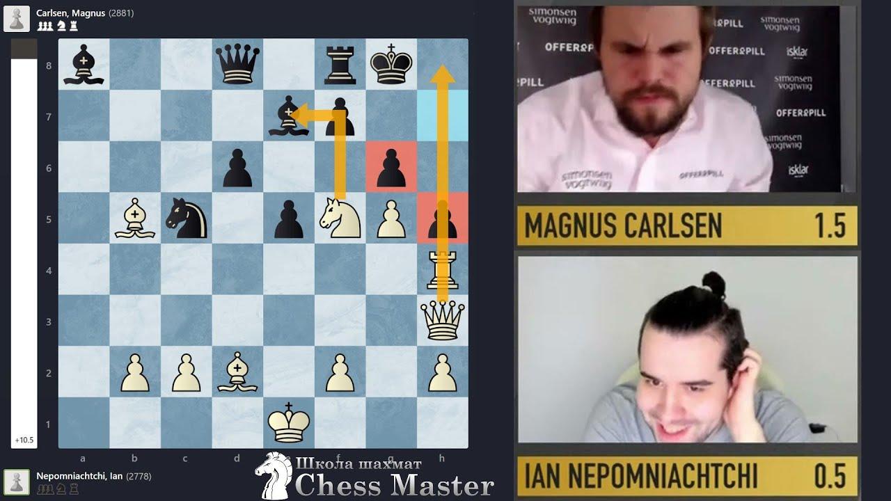 Ян Непомнящий РАСТЕРЗАЛ Карлсена в 20 ходов! Обзор финала Legends of chess. Легенды шахмат
