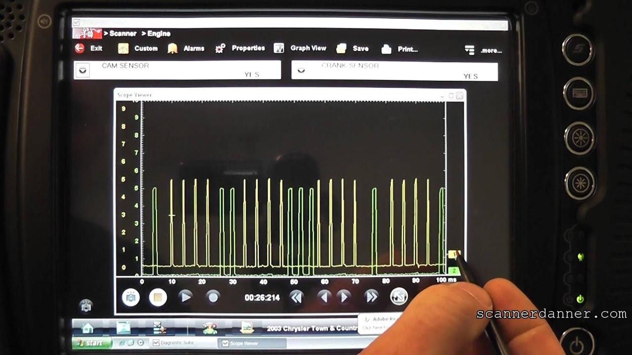 faulty cam sensor setting a crank sensor code p1389 p0320 p0622 rh youtube com