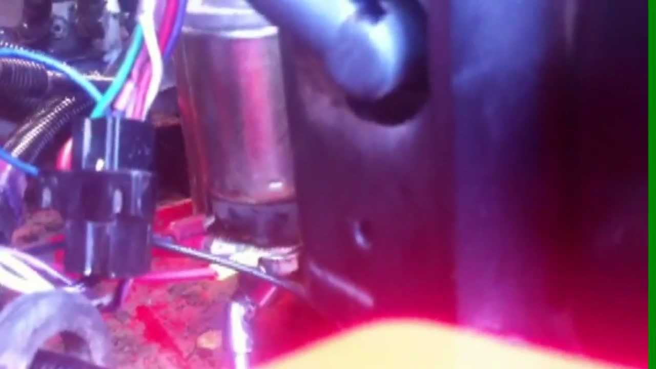 Lawn Tractor Ztr Repair Snapper Zero Turn Quick Tip For Hard To Old Wiring Harness Get Starter Nuts