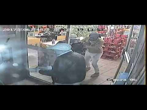 Shootout between robbers and reaction officer, Middelburg