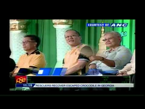 Decommissioning of weapons of MILF, Sultan Kudarat - PTV Coverage [06/16/15]