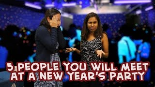 5 people you meet at a new years eve party