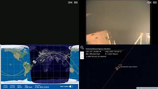 Atlantic Sunset And Camera Glitch - NASA/ESA ISS LIVE Space Station With Map - 568 - 2019-03-17