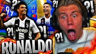 PACKER TOTS 99 CRISTIANO RONALDO PÅ FIFA 19!! 👀💥 **faktisk ikke clickbait**