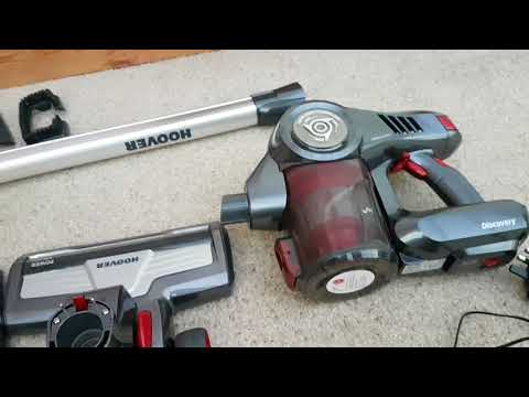 Hoover Discovery DS22G Cordless Vacuum cleaner review