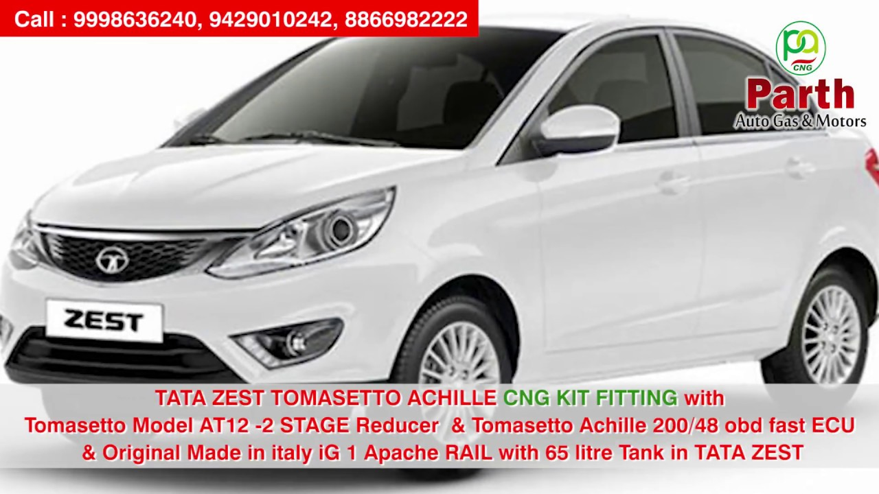Tata Zest Tomasetto Achille Cng Kit Fitting