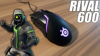 The Best Fortnite Mouse! - SteelSeries Rival 600 Review