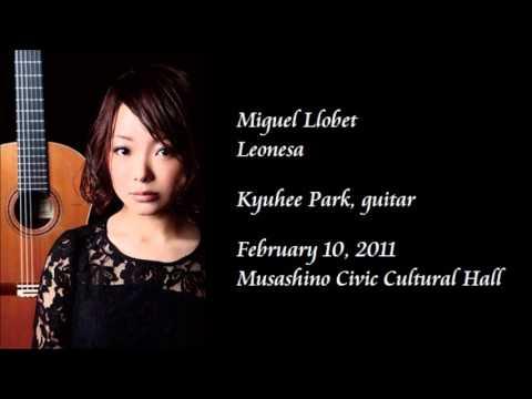 Llobet: Leonesa - Kyuhee Park