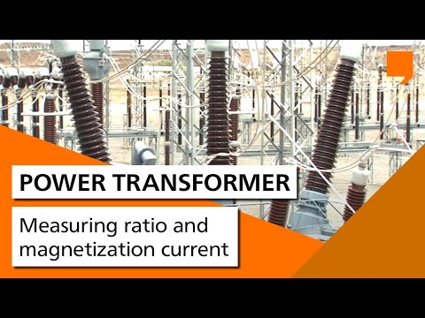 Power Transformer Testing - Measuring ratio and magnetization current