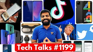 Tech Talks #1199 - Redmi Note 10 Launch, USA TikTok Theft, Galaxy M51, Pixel 4a, Redmi 9 Prime, C3