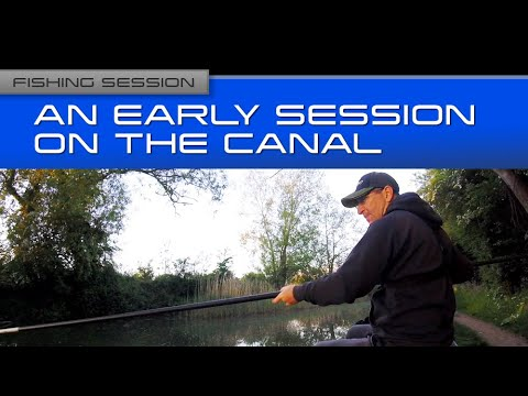 Fishing Session: An Early Session On The Canal