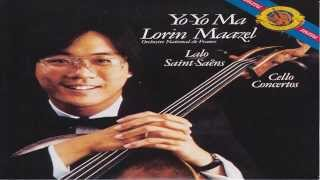 Saints Saens and Lalo, Cello Concertos | Yo-yo ma