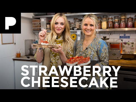 Fearne Cotton's Happiness Project: Raw Strawberry Cheesecake