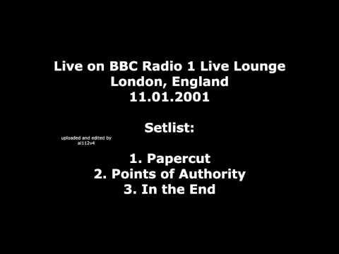 Linkin Park - Live on BBC Radio 1 Live Lounge (Only audio)