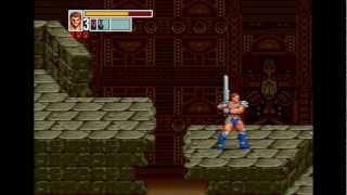 Golden Axe 3 Прохождение (Sega Rus) - Путь 1