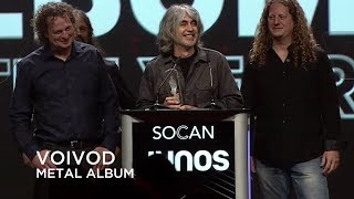 Voivod win Metal Album of the Year | Junos Gala Dinner & Awards 2019
