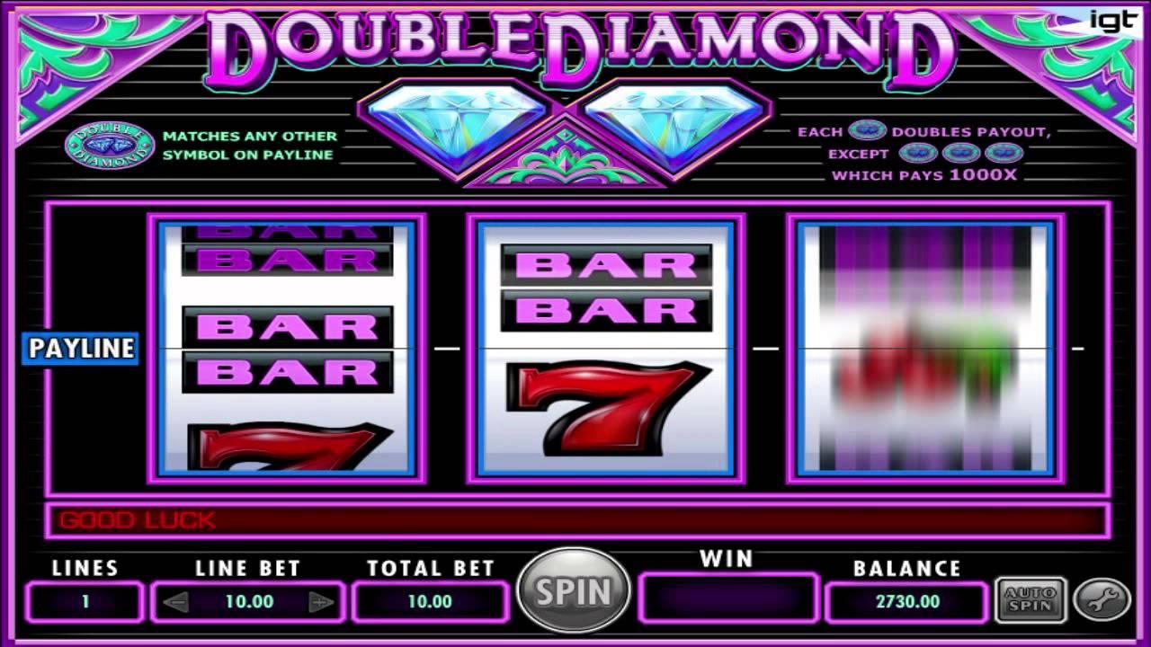 Free Online Slots Double Diamond Deluxe