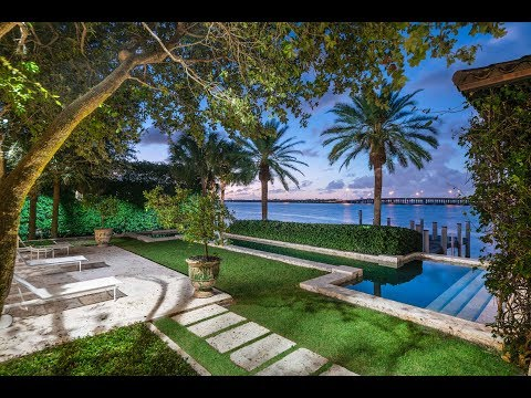Magical Waterfront Estate in Miami Beach -- Lifestyle Production Group