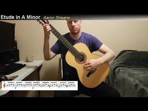 Aaron Shearer - Etude in A minor (RCM Prep Book W/Score)