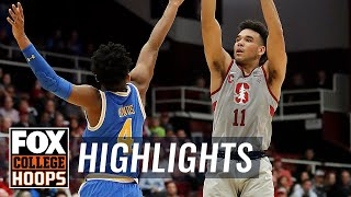 UCLA vs Stanford | Highlights | FOX COLLEGE HOOPS