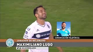 Maximiliano Lugo y el Festejo del Gol con dedicatoria