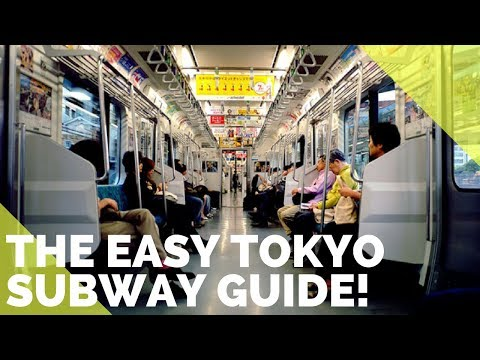 HOW TO CATCH THE TOKYO SUBWAY- THE EASIEST GUIDE ON YOUTUBE!