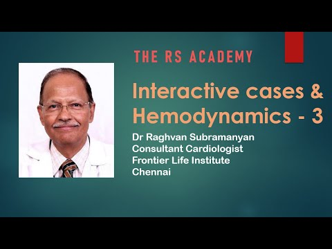 RG Academy   Interactive Hemodynamics  3 27th June 2020