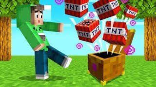 OPENING MYSTERY BOXES In MINECRAFT! (Pandora's Box)