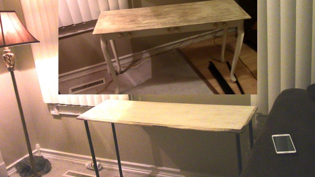 Diy industrial table - Diy Table Makeover Diy Easy Rustic Industrial Table