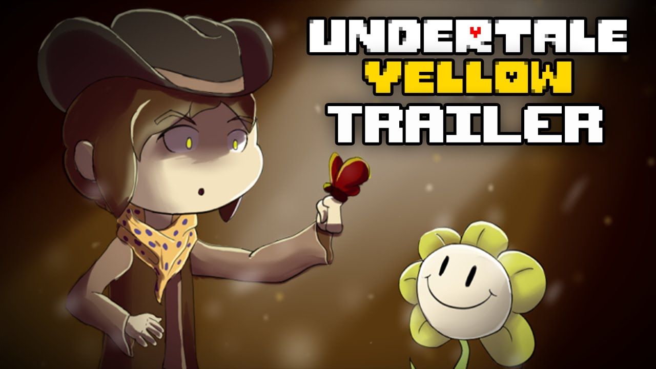 Gravity Falls Anime Wallpaper Undertale Yellow Official Trailer Youtube