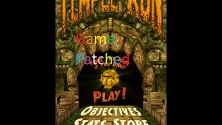 *New* Temple Run Game Patch