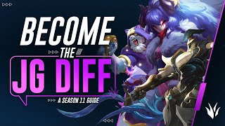 6 Ways To Bę The JUNGLE DIFFERENCE & Dominate Games! | League of Legends Season 11 Guide