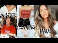 Winter Try-On Haul 2017    LULUS, Free People, Forever 21, Jeans Warehouse Hawaii