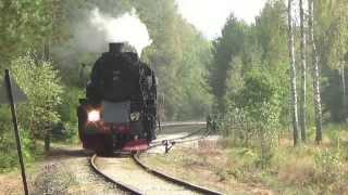 Dożynki Prezydenckie 2014 - Ty42-107 z pociągiem retro