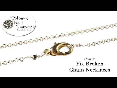 How to Fix Broken Chain Necklaces jpg