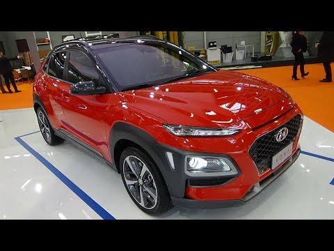 2018 Hyundai Kona 1.6 T GDi 177 4WD DCT Style Exterior and Interior Bologna Motor Show 2017