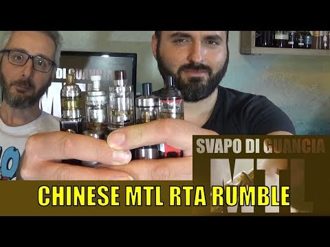 CHINESE MTL RTA RUMBLE - ARES vs BERSERKER MINI vs HASTUR vs ROSE vs SIREN 2
