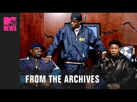 Diddy, Notorious B.I.G & Craig Mack on Yo! MTV Raps (1994) | MTV News | #TBMTV