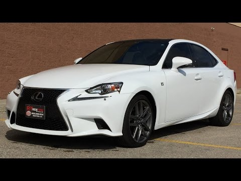 2014 Lexus IS 250 F Sport AWD - Executive Package w/ Leather, Sunroof, Nav | HUGE VALUE