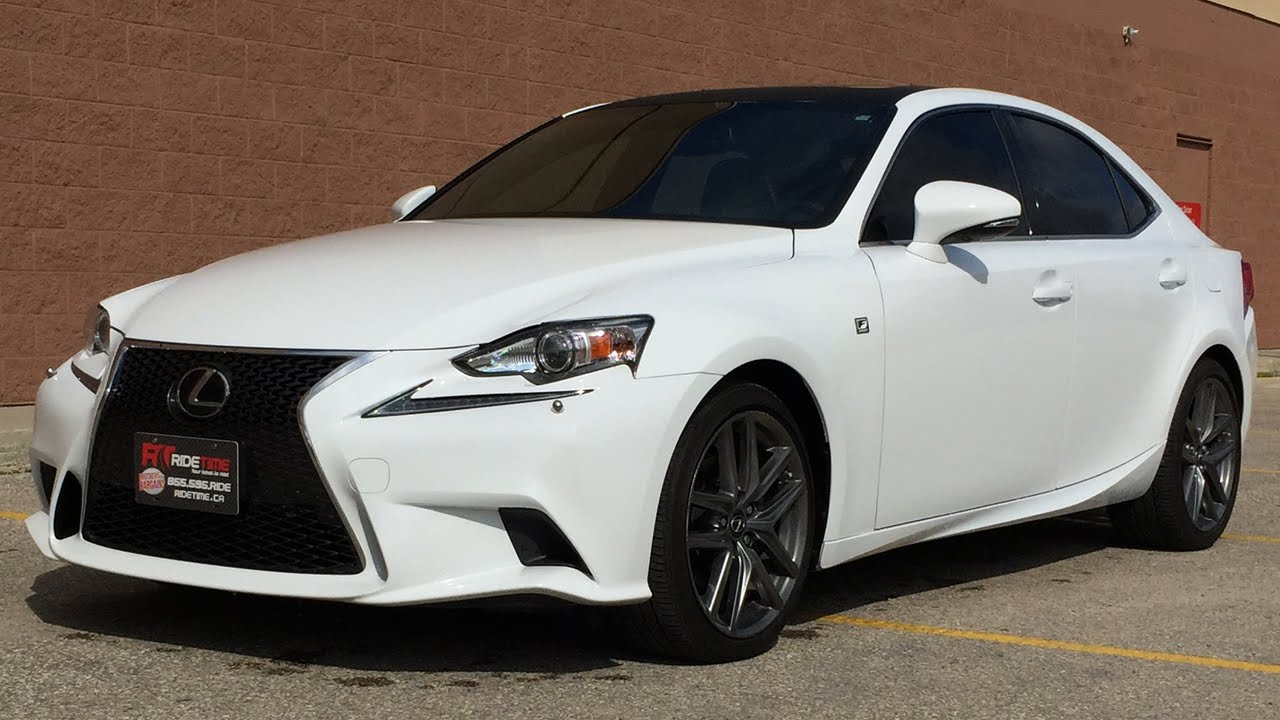 2014 lexus is 250 f sport awd executive package w leather sunroof nav huge value youtube. Black Bedroom Furniture Sets. Home Design Ideas