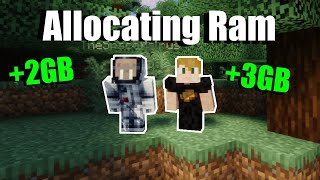 How To Allocate M๐re Ram To Your Minecraft Server (1.16)