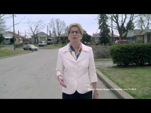 2014 - OLP -Kathleen Wynne -The Progressive Conservative Record